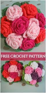 Crochet Flowers New Design Crochet Flower Bouquet Free Patterns Crochet Flowers