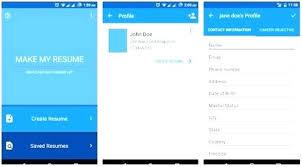 Resume App Free Cool Best Resume Builder App Free For On Oceandesignus
