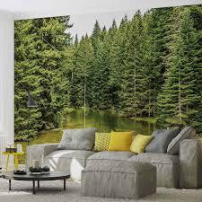 Behang Gereedschap Access Muurposters 528 Fototapete Bäume Wald