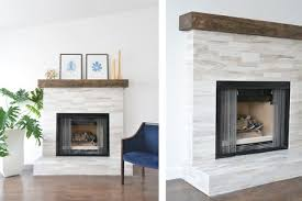 rustic marble fireplace wood mantel