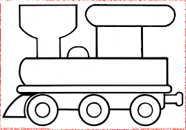 Wagon Train Coloriage Train Wagon Imprimer L