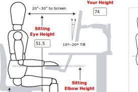 best ergonomically correct desk setup for ergonomic desk setup arpandeb com