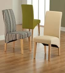 roma cream fabric dining chair