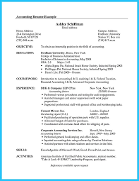 Good Accounting Resume Writing A Food Truck Business Plan