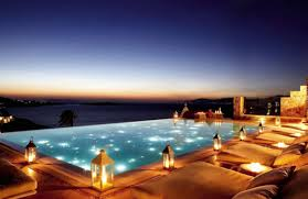 infinity pool night. Anyone For A Night-time Dip? We Can\u0027t Imagine Better Spot Stargazing. Infinity Pool Night T