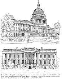 Small Picture Historic American Landmarks US CAPITOL BUILDING AND THE WHITE