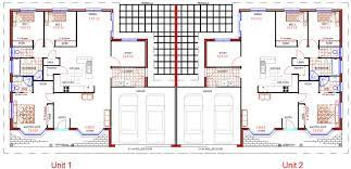 duplex design bedroom double garage