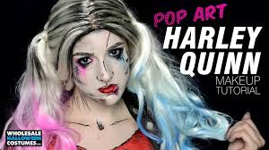 31 days of get set for your party with these harley quinn and croc makeup tutorials