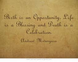 celebration of life quotes death