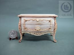 unfinished dollhouse furniture. Miniature 1:12 Scale Doll House Wooden Bombay Chest[Unpainted] Unfinished Dollhouse Furniture H