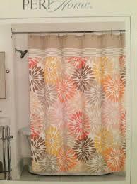 yellow flower shower curtain bayberry flower burst fabric shower curtain in hot pink red orange