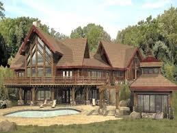 Inspiring Log Cabin Designs And Floor Plans Including Large Living Large Log Cabin Floor Plans