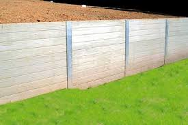 Small Picture Concrib concrete sleeper retaining wall system Garden