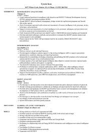 Intelligence Analyst Resume Examples Sigint Analyst Resume Samples Velvet Jobs 49