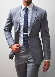 Light Grey 2 Piece Suit Us 47 76 36 Off 2020 New Arrival 2 Pieces Business Men Suits Light Grey Wedding Suits For Groomsman Slim Fit Groom Tuxedos Jacket Pants Tie In