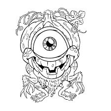 Nieuw Kleurplaten Enge Monsters Krijg Duizenden Kleurenfotos Van
