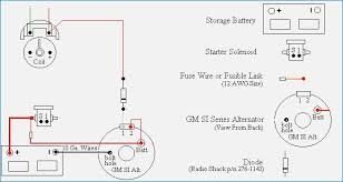 gm single pole alternator wiring diagram bestharleylinks info delco 2 wire alternator wiring diagram 2 wire alternator diagram crayonbox