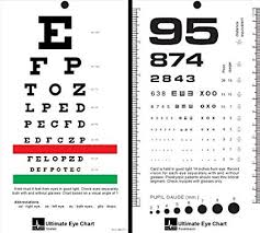 Snellen Chart Uk Printable Mccoy Ultimate Rosenbaum Snellen Pocket Eye Chart By