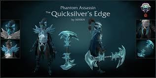 dota2 phantom assassin quicksilver set polycount