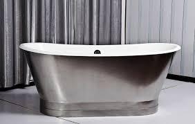 image of porcelain on steel bathtubs