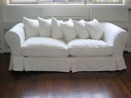 Luxury White Sofas Combined with Best Indoor Lighting: Amazing Cushions  Made From Fabric And Foam Material Ideas Classic Style White Sofas W.