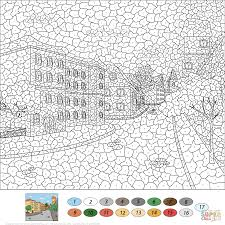 Color Number Coloring Pages 15 55421 At By For Adults