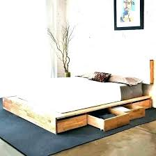 Queen Size Bed Frame With Drawers Underneath Full Storage Wit – Itdevops