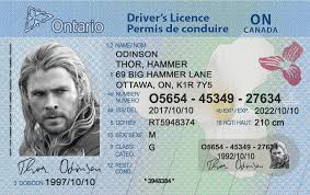 Drivers Fake Best - Scannable License on Id Ontario Idviking Ids
