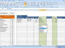 Tracking Expenses In Excel 16 Expense Tracking Templates Free Sample Example Format