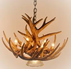 deer antler chandelier whitetail 9 cascade