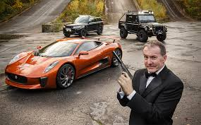 John Evans Drive The Spectra James Bond Villain Cars: Jaguar C-X75, Land