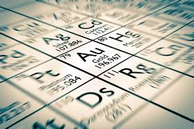 Gold chemical element — Stock Photo © Antoine2K #99787254