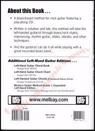 Mel Bay Modern Left Handed Rock Guitar Method Grade 1 Book And Cd