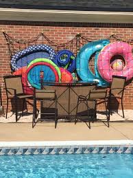 pool storage ideas. Modren Ideas Awesome Pool Storage Ideas  Toy Holder Made From Cargo Net And  Command Hooks Intended Pool Storage Ideas T