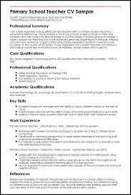20 Cv Format For Teaching Job Waa Mood