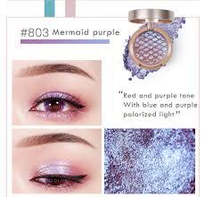 Light Pink And Blue Eyeshadow Us 0 88 37 Off New Sunset Single Matte Eyeshadow Palette Blue Green Purple Polarized Light Korean Makeup Shimmer Paleta De Sombra Tslm2 In Eye