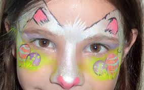 Small Picture Easter Bunny Face Painting Tutorial YouTube