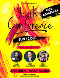 Youth Conference Flyer Templates Magdalene Project Org