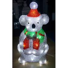 Christmas Shop Online - 47cm Christmas Koala with Present