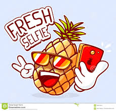 pineapple with sunglasses clipart. royalty-free vector. download vector illustration of colorful hipster pineapple sunglasses with clipart