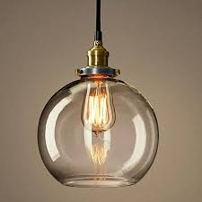 glass orb pendant light glass orb pendant lighting in copper finish large glass orb pendant light