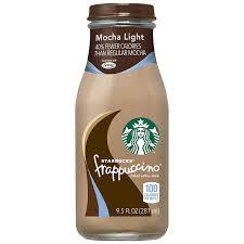 Starbucks Frappuccino Mocha Light 9 5oz Bottles 15count