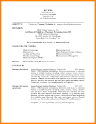 Pharmacy Tech Trainee Cover Letter Non Certified Technician Photos