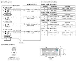 kia rio ignition coil circuit diagram