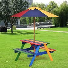 picnic table bench set garden patio