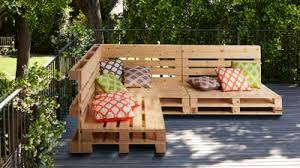 Outdoor pallet furniture Kids Homebase How To Make Pallet Furniture At Homebasecouk