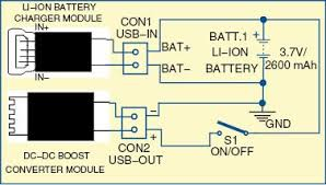 power bank circuit for smartphones full circuit explanation 12 Volt Parallel Battery Wiring Diagram at 3 Bank On Board Battery Wiring Diagram