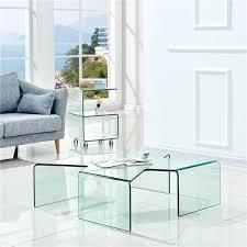 china modern design glass center table
