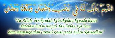 Niat dan doa shalat sunnah istikharah beserta. Doa Menyambut Bulan Rajab Sya Ban Dan Ramadhan Berpendidikan Com