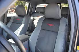 2017 tacoma neoprene seat covers katzkin leather seat group toyota truck mods and leaf spring